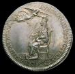 London Coins : A157 : Lot 857 : Coronation of Charles II 1661 29mm diameter in Silver by T.Simon, the official Coronation Issue Eime...