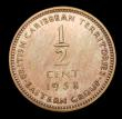 London Coins : A158 : Lot 1095 : East Caribbean States - British Caribbean Territories Half Cent 1958 VIP Proof/Proof of record KM#1 ...