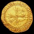 London Coins : A158 : Lot 1113 : France Half Ecu d'Or au soleil Francois I (1515-1547) Friedberg 343 Good Fine with a very sligh...