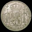 London Coins : A158 : Lot 1873 : Dollar George III Oval Countermark on a Mexico City 8 Reales 1795 Mo (Mexico City) ESC 129, counterm...