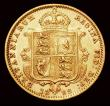 London Coins : A158 : Lot 2109 : Half Sovereign 1892 High Shield S.3869C NVF