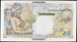 London Coins : A158 : Lot 463 : Saint Pierre & Miquelon 1 Nouveau Franc overprint on Reunion 50 Francs issued 1950 - 1960, serie...