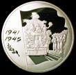 London Coins : A158 : Lot 751 : Russia 100 Roubles 2005 60th Anniversary of the Victory over Germany Y#895 1 Kilo of .925 silver Pro...