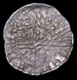 London Coins : A158 : Lot 805 : Mint Error - Mis-Strike Hammered Penny Long Cross Henry III (?) both sides with multiple striking ma...