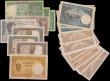 London Coins : A159 : Lot 1787 : Madagascar (20) 5 Francs (8) issued 1937, Goddess Juno at left, (Pick35), 10 Francs (3) issued 1937 ...