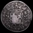 London Coins : A159 : Lot 3302 : Netherlands - Kingdom 6 Stuivers countermarked issue (1693) countermark bundle of Arrows, on host co...