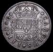 London Coins : A159 : Lot 3402 : Spain 4 Reales 1761 S JV Seville Mint KM#396.2 About VF  and bold, a scarce one-year type, comes wit...