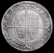 London Coins : A159 : Lot 596 : Crown Edward VI 1553 S.2478 mintmark Tun VG/Fine with some tooling in the fields