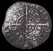 London Coins : A159 : Lot 617 : Halfgroat Henry VI Annulet issue, Calais Mint, S.1840 mintmark Pierced Cross Fine or better with une...