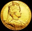 London Coins : A160 : Lot 1764 : Coronation of Edward VII 1902 56mm diameter in gold, the official Royal Mint issue, Eimer 1871 UNC a...