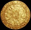 London Coins : A160 : Lot 2012 : Sovereign Elizabeth I Sixth Issue S.2529, North 2003 mintmark Escallop, weight 15.23 grammes, Good F...
