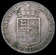 London Coins : A160 : Lot 2221 : Halfcrown 1689 First Shield, Caul and Interior frosted, L over M in GVLIELMVS, ESC 503A, Bull 827, B...