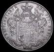 London Coins : A160 : Lot 2239 : Halfcrown 1825 ESC 642 NEF with grey tone and a couple of rim nicks
