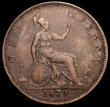 London Coins : A160 : Lot 2424 : Penny 1879 Close Date Freeman 98 dies 9+K Fine, rare, rated R13 by Freeman