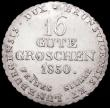 London Coins : A160 : Lot 3239 : German States - Hanover 16 Gute Groschen 1830 KM#138 EF