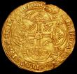 London Coins : A161 : Lot 1170 : France Royal d'Or Charles V (1364-1380) Friedberg 283 VF with an edge crack at 11 o'clock