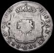 London Coins : A161 : Lot 1340 : Scotland Countermarked Dollar 1797 Lanark Mills Davis 83, KM#CC66 Countermark Near Fine, host coin V...