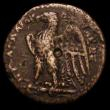 London Coins : A161 : Lot 1399 : Ptolemaic Kings of Egypt Copper Ae20 Obverse: Alexander the Great Head  Fine or better