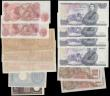 London Coins : A161 : Lot 462 : World & GB (13), Italy (5), France (2) & GB (6), Italy Allied Military Currency 500 Lire dat...