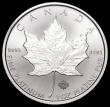 London Coins : A162 : Lot 1138 : Canada Fifty Dollars 2016 One Ounce Platinum Proof with the Maple leaf Privy Mark with 16 in the cen...