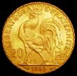 London Coins : A162 : Lot 1158 : France 20 Francs Gold 1910 KM#857 UNC with practically full lustre