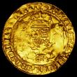 London Coins : A162 : Lot 1599 : Half Sovereign Henry VIII S.2294 mintmark Pellet in annulet NVF, two slightly smoothed areas on the ...