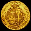 London Coins : A162 : Lot 1678 : Malta 10 Scudi Gold 1763 KM#272 VF with some light hairlines and adjustment lines
