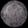 London Coins : A162 : Lot 1694 : Scotland Half Merk (Noble) James VI Second Coinage 1573 S.5478 Good Fine with some old scratches, Ra...