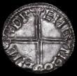London Coins : A162 : Lot 2117 : Penny Aethelred II Long Cross S.1151 Lincoln Mint, moneyer Dreng, GVF, a bold example