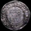 London Coins : A162 : Lot 2129 : Shilling Edward VI Fine Silver Issue S.2482 mintmark Tun Fine with an old tone and three long scratc...