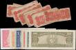 London Coins : A162 : Lot 232 : Cuba (26), 50 Centavos (20) dated 15th May 1896, (Pick46a) average Fine, 1 Peso dated 1938, 3 Pesos ...