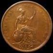 London Coins : A162 : Lot 2412 : Penny 1831 W.W on truncation Peck 1458* an extremely rare variety that usually only occurs in low gr...