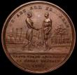 London Coins : A162 : Lot 892 : Abolition of the Slave Trade 1807 36mm diameter in copper by G.F.Pidgeon/J.Philip, Eimer 984, Obvers...