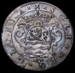London Coins : A162 : Lot 907 : Defeat of the Spanish Armada 1588 32mm diameter in silver. Obverse: Two ships in engagement VENIT. I...