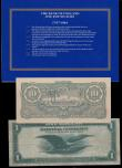 London Coins : A163 : Lot 1594 : USA 1 Dollar Federal Reserve Bank of San Francisco issued series of 1918 (May 20th 1914), series L19...