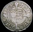 London Coins : A163 : Lot 278 : Groat Henry VIII First Issue, Portrait of Henry VII in profile, S.2316 mintmark Pheon, Good Fine wit...