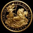 London Coins : A163 : Lot 377 : Britannia Gold £100 1997 One Ounce S.BQ3 Gold Proof, nFDC uncased only 164 issued