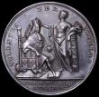 London Coins : A163 : Lot 52 : Coronation of George II 1727 34mm diameter in silver by J.Croker Eimer 510 the official coronation i...