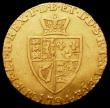 London Coins : A163 : Lot 527 : Half Guinea 1794 S.3735 Fine or better with an edge and surface knock