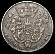 London Coins : A164 : Lot 1333 : Sixpence 1821 BBITANNIAR error, Bull 2424 ESC 1656 Fine, the obverse with some old thin scratches, R...