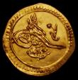 London Coins : A164 : Lot 527 : Turkey Quarter Zeri Mahbub AH1223/5 KM#605 VF or slightly better
