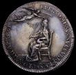 London Coins : A164 : Lot 657 : Coronation of Charles II 1661 29mm diameter in silver by T.Simon,  Eimer 221 The official Royal Mint...