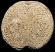 London Coins : A164 : Lot 709 : Papal Bulla seal in lead, Alexander IV (Rinaldo di Jenne) 1254-1261 Obverse: facing busts of St. Pet...