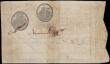 "London Coins : A165 : Lot 1001 : Portugal 10000 Reis Imperial Treasury Pick 28 dated 20th December 1798 red overprint at centre ""..."