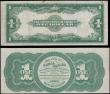 London Coins : A165 : Lot 1068 : USA (2) 1 Dollar Treasury Legal Tender Note Pick 128 dated 1st August 1862 Salmon Portland Chase, &q...