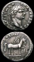 London Coins : A165 : Lot 2057 : Roman Denarius (3) Domitian (81-96AD) Rome mint. Minted 92-93AD Obverse: Laureate head right IMP CAE...