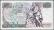 London Coins : A165 : Lot 227 : Twenty Pounds Gill B355 issued 1988 prefix 03T 292491 (mid-run note) UNC