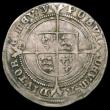 London Coins : A165 : Lot 2459 : Shilling Edward VI Fine Silver issue S.2482 mintmark y Fine with a light crease