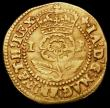 London Coins : A165 : Lot 2488 : Thistle Crown James I, I R on both sides  S.2627 mintmark Lis, Fine with a little weakness of strike...
