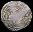 London Coins : A165 : Lot 2489 : Threepence Charles I Oxford Mint, 1644 mintmark Lis/- S.2994 overall Fine with some weak areas
